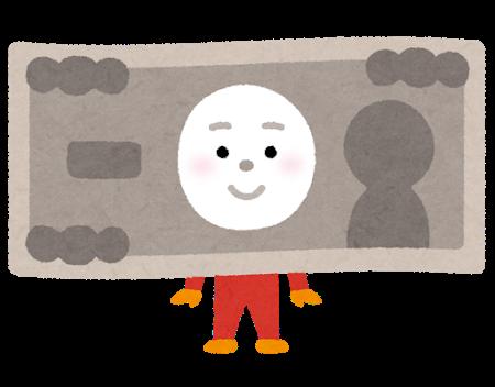 紙幣のキャラクター