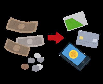 キャッシュレス決済のイメージ