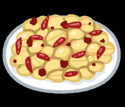 麻辣ピーナッツ