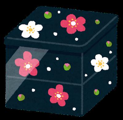 重箱のイラスト