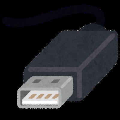 USB端子(type-A)のイラスト