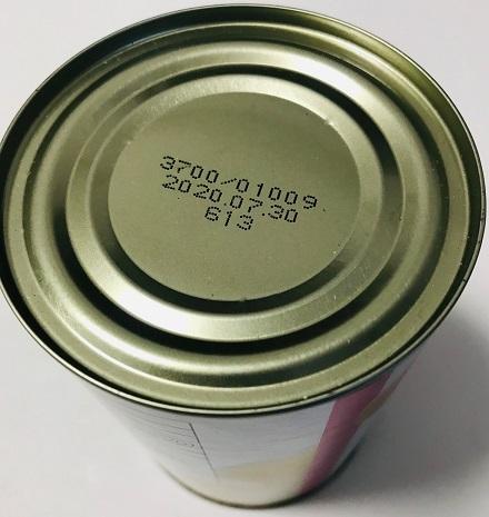 白桃缶詰の賞味期限