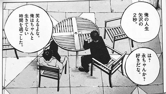 俺の人生矢沢の2秒(闇金ウシジマくん29巻)