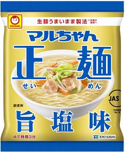マルちゃん正麺旨塩味